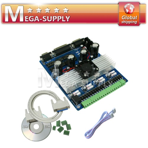 4 Axis CNC Stepper Motor Driver Board Controller TB6560