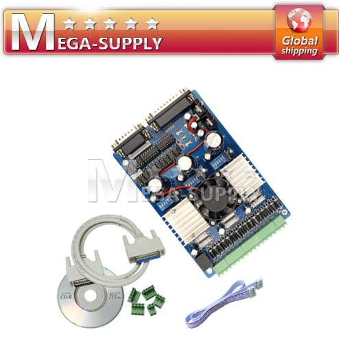 3 Axis TB6560 CNC Stepper Motor Driver Board 1.5A-3A