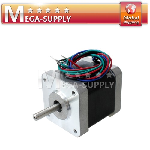 1.8 Degree Nema 17 Stepper Driver Motor 4.4 Kg-cm Holding Torque For CNC Router