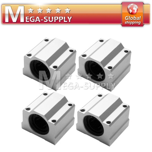 4pcs SC20UU Linear Ball Bearing CNC Router XYZ For 20mm Diameter Shaft