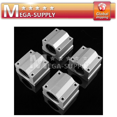 4pcs CNC DIY Units SC6UU Linear Ball Bearing 6mm For Mini Milling Machine