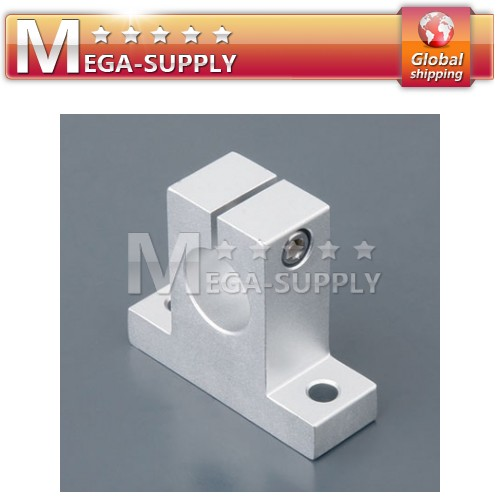 4pcs CNC DIY Units SK16 Linear Rail Shaft Support 16mm For Milling Machine