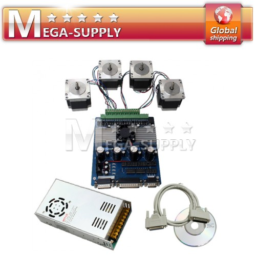 3A 4 Axis CNC Router 175Oz-in Stepper Motor Driver Kit
