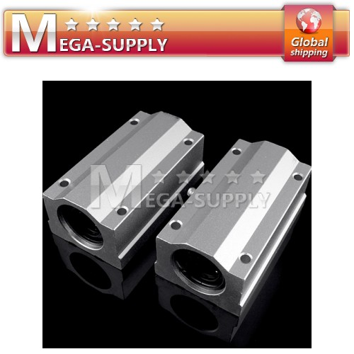 2pcs 13mm SC13LUU Linear Ball Slide Bearing Block CNC