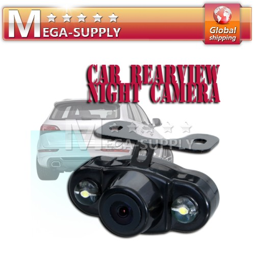 Rear View Reversing Auto Camera LED Sensor Wide Angle