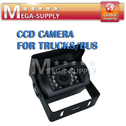 CAR TRUCK BUS CCD 12V Front View Camera Non-mirror Image