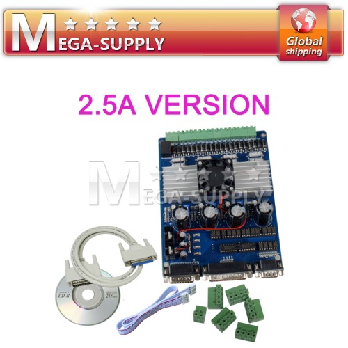 4 Axis TB6560 Motor Driver Stepper Board Controller 2.5