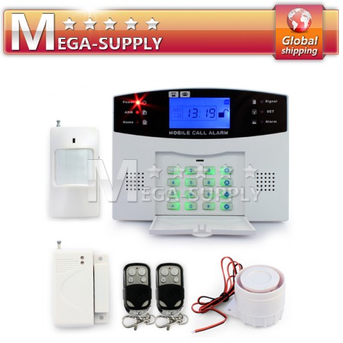 106 Defense Zones Wireless Home Alarm Burglar System Long-range Remote Control