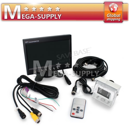 "Rear View Kit 7"" Monitor + White CCD Reversing Camera"
