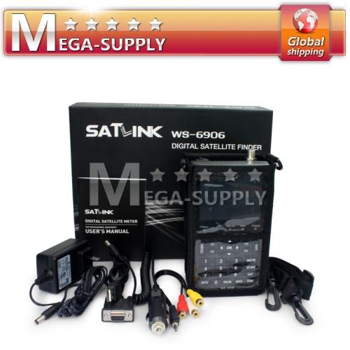 """New 3.5"""" Color LCD Satellite Sat Finder Signal Meter TV 13/18V + Car Charger"""