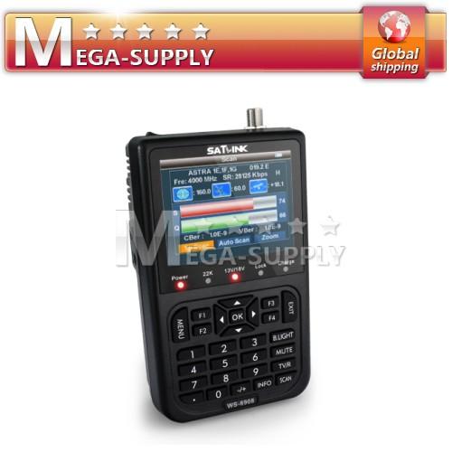 """3.5"""" Color LCD TFT Satellite Sat Finder Signal Meter TV 13/18V 3000mA Li Battery"""