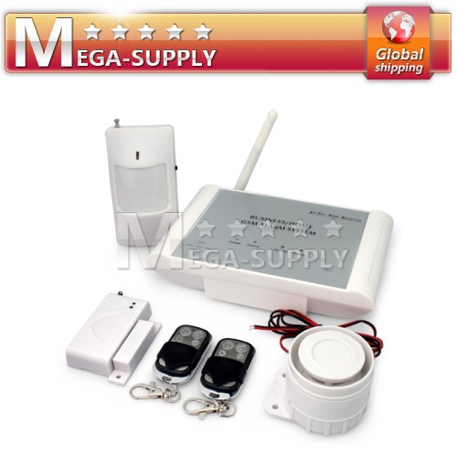 Wireless Home House Burglar System Mornitoring Intercom Easy Operation