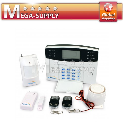 Wireless Home Gsm Sms Call Burglar Alarm System For Garage Storage Home Garden