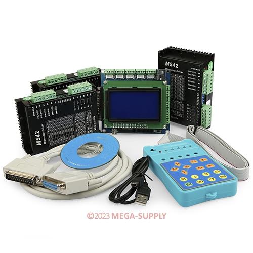 CNC-Kit-3-Axis-For-Nema17-Nema23-Nema34-Motor-5-Axis-Breakout-Board-M542-4-5A